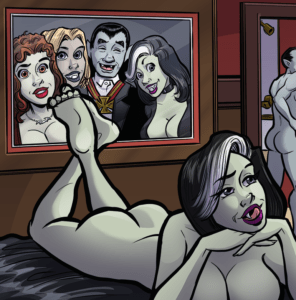 Commission Dracula post coital_crop