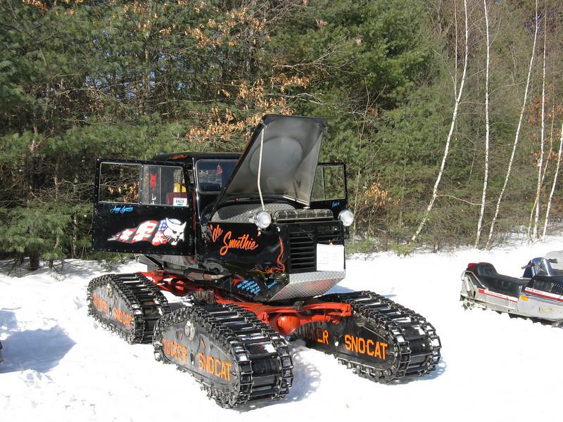 Tucker SnoCat Snow vehicles, Vintage sled, Cool trucks