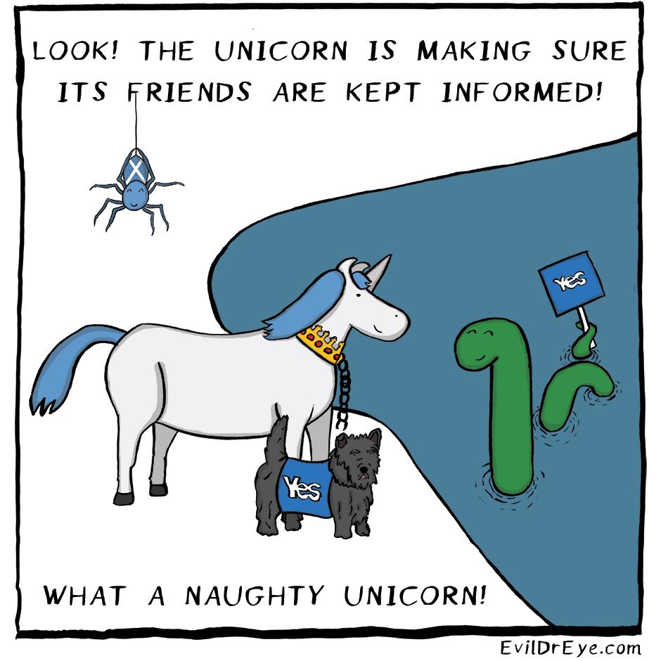 Naughty Unicorn – Friends