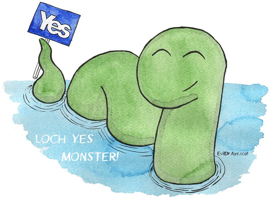 Loch Yes Monster 3