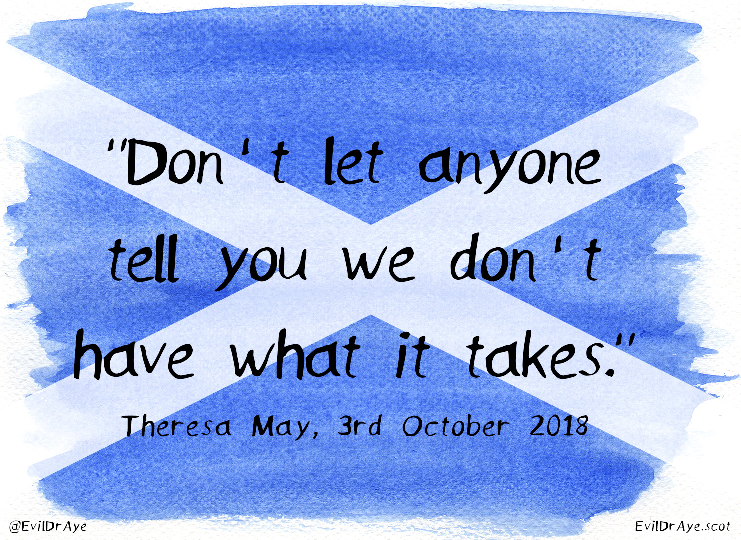 A message from your Tory leader