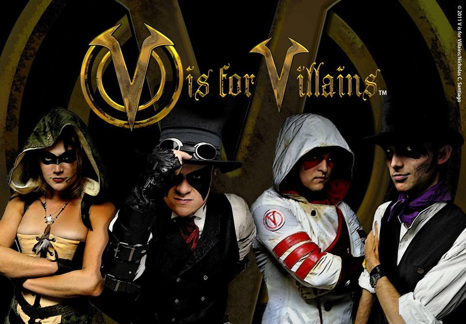 V is for Villains