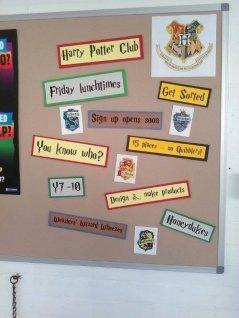 Le Harry Potter Club !