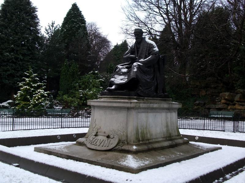 Le Kelvingrove Park de Glasgow au fil des saisons