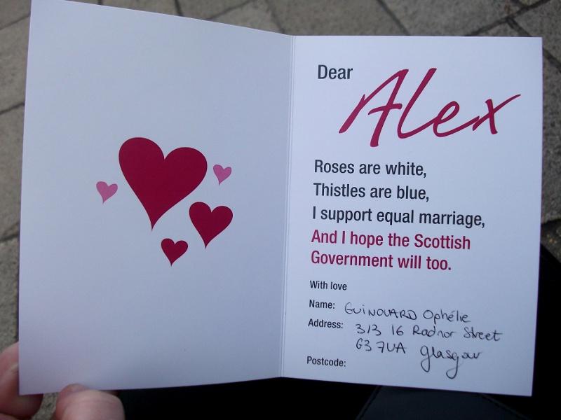 Une Saint-Valentin toute particulière : la Love Equally March Edimbourg