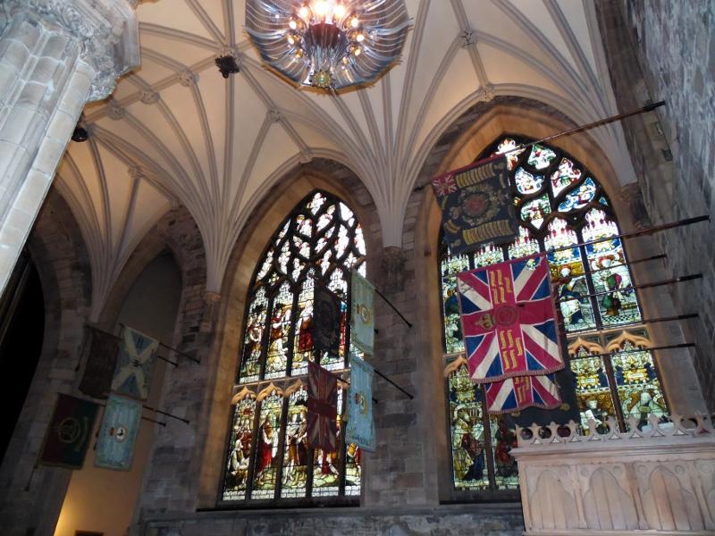 La Cathédrale St Gilles à Edimbourg