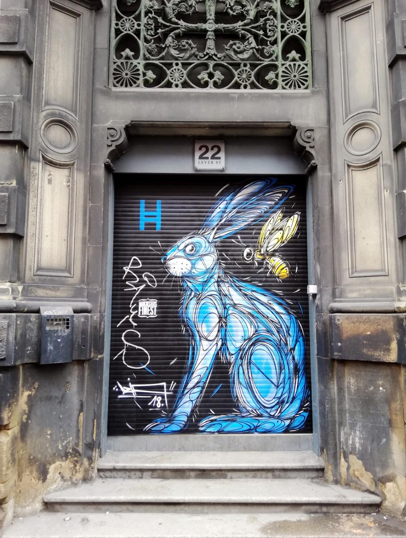 Street art à Manchester