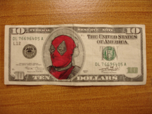 Deadpool's all over these ex Presidents!