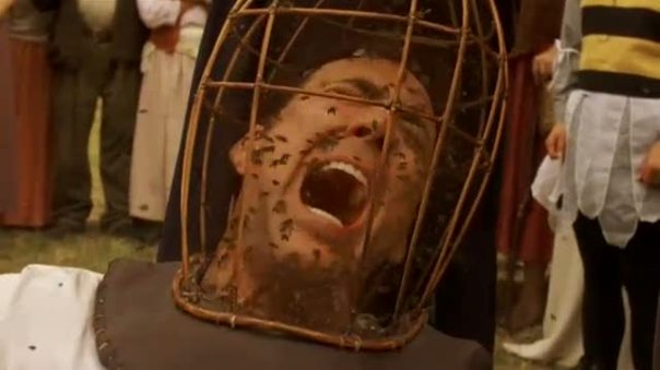 Luckily that isn't the Wicker Man involved in Powell's book.  WHEW!