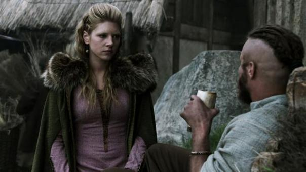 ragnar and lagertha day to day business