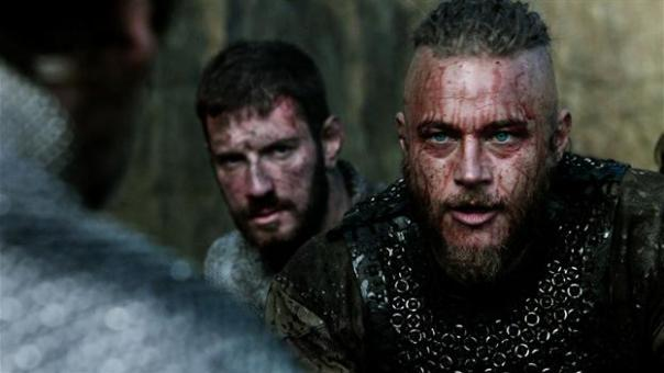 ragnar talking to kings brother