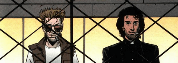 Jesse Custer and Cassidy 3