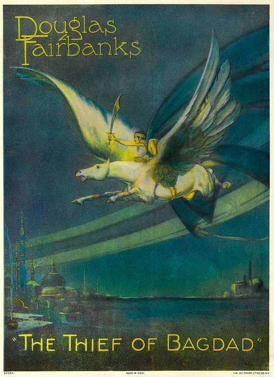 558px-The_Thief_of_Bagdad_(1924)_-_film_poster