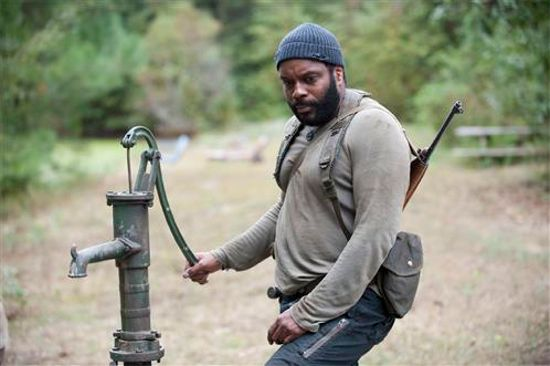"""For the life of him, Tyreese just couldn't figure out why the lyrics to """"Pump It Up"""" were suddenly stuck in his head."""