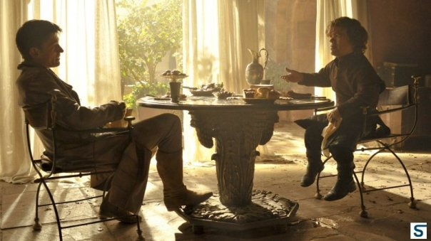 Jaime and Tyrion