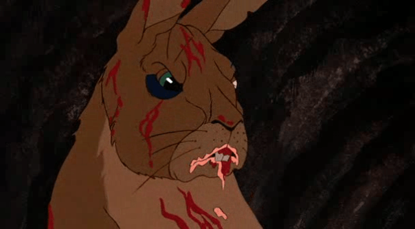Though this movie can be a real horror of horrors for the rabbits in it.
