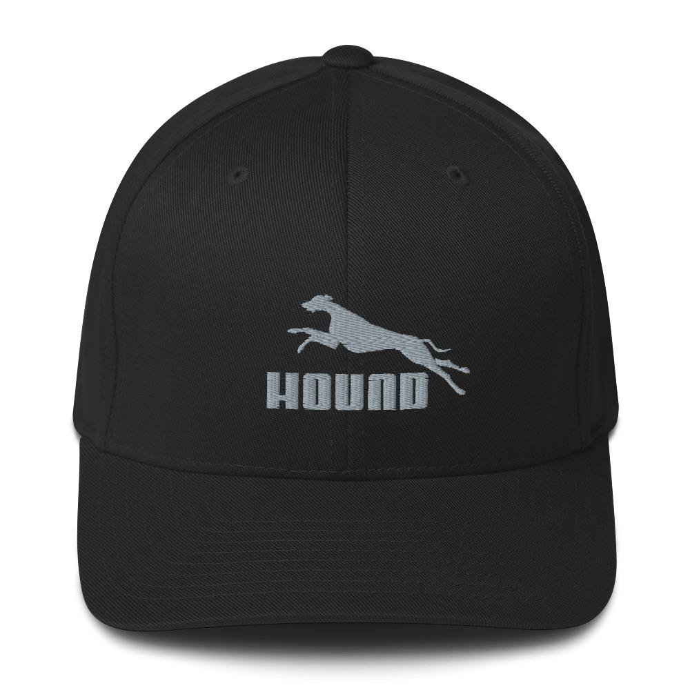 Hound <br>Embroidered Twill Cap