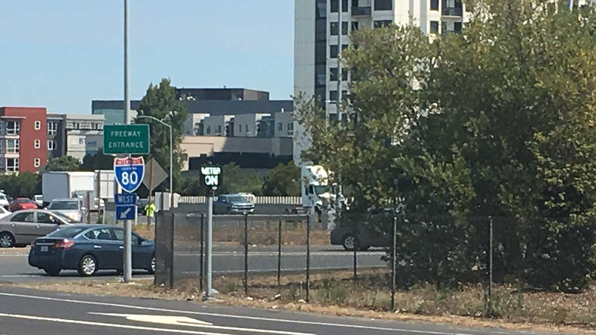 Caltrans Activates Powell Street I-80 Metering Lights to