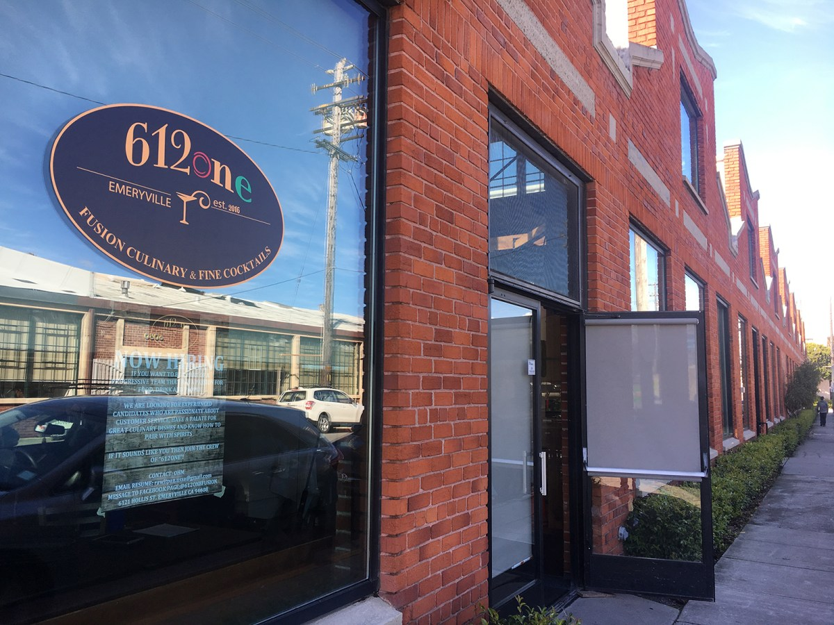 612one Fusion Restaurant ready to open its doors to Emeryville Community