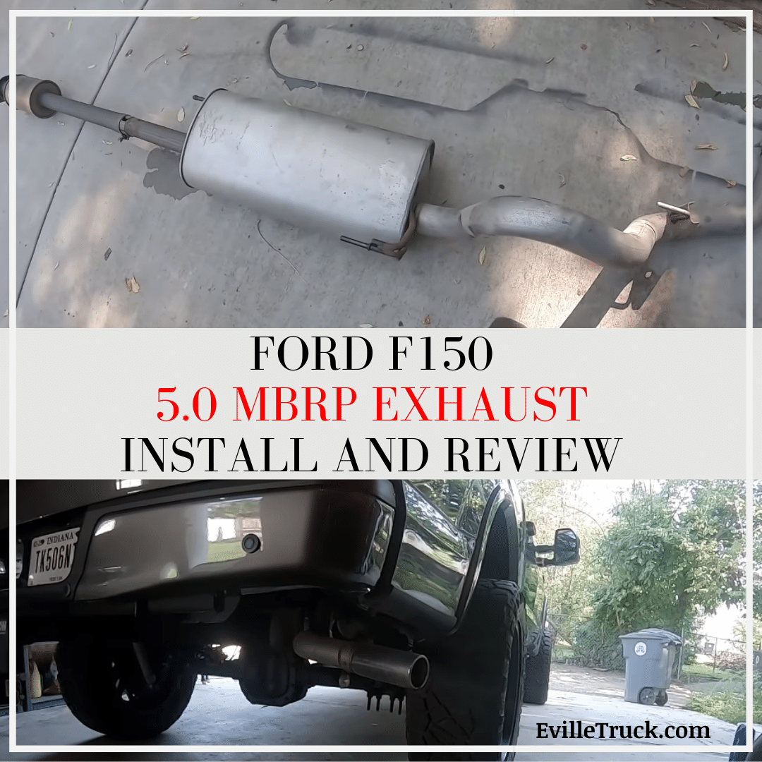ford f150 5 0 mbrp exhaust install and