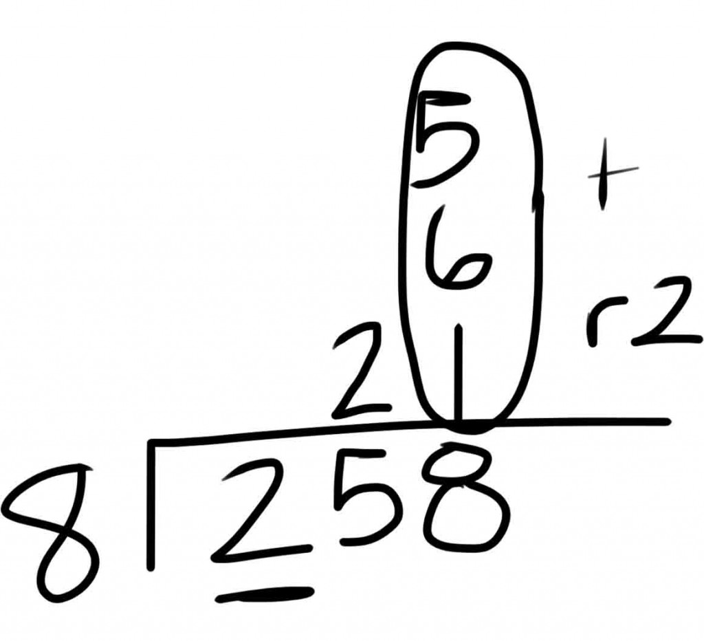 Look Mom I can divide! * Evil Math Wizard