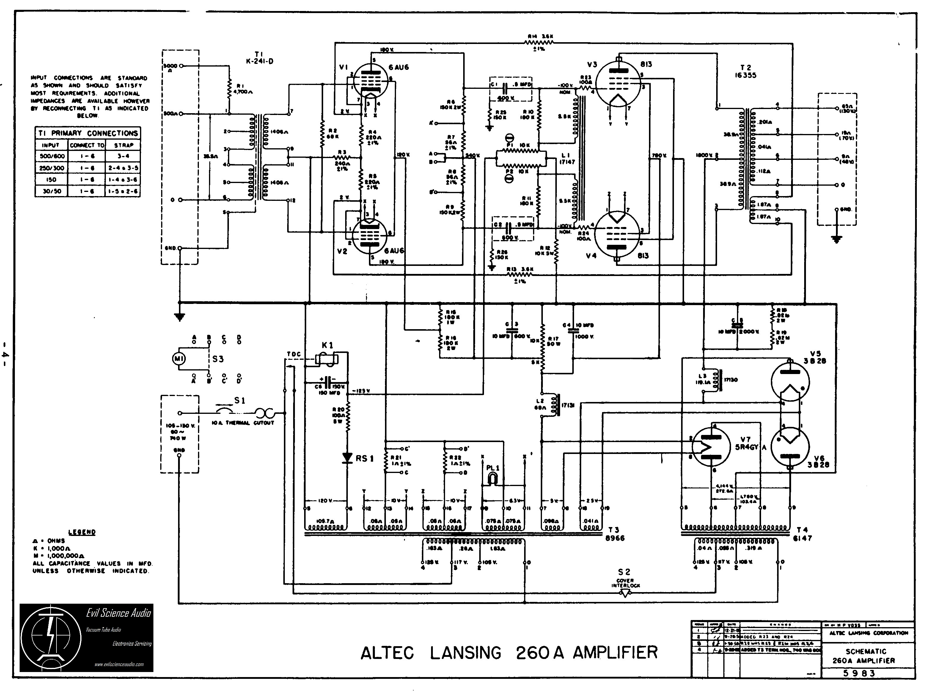 Altec Lansing Vs Wiring Diagram