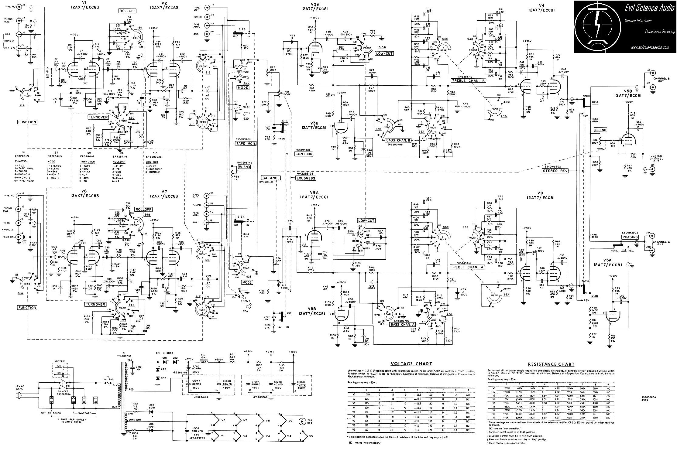 Hi Fi Schematics
