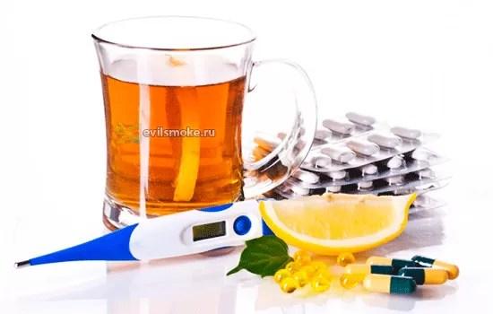 foto-kurenie-i-gripp-sovetyi