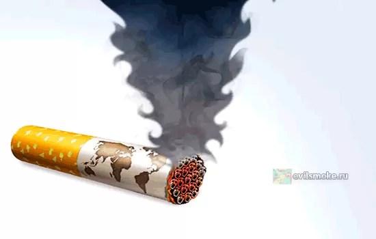 Фото - Дымящиеся сигареты
