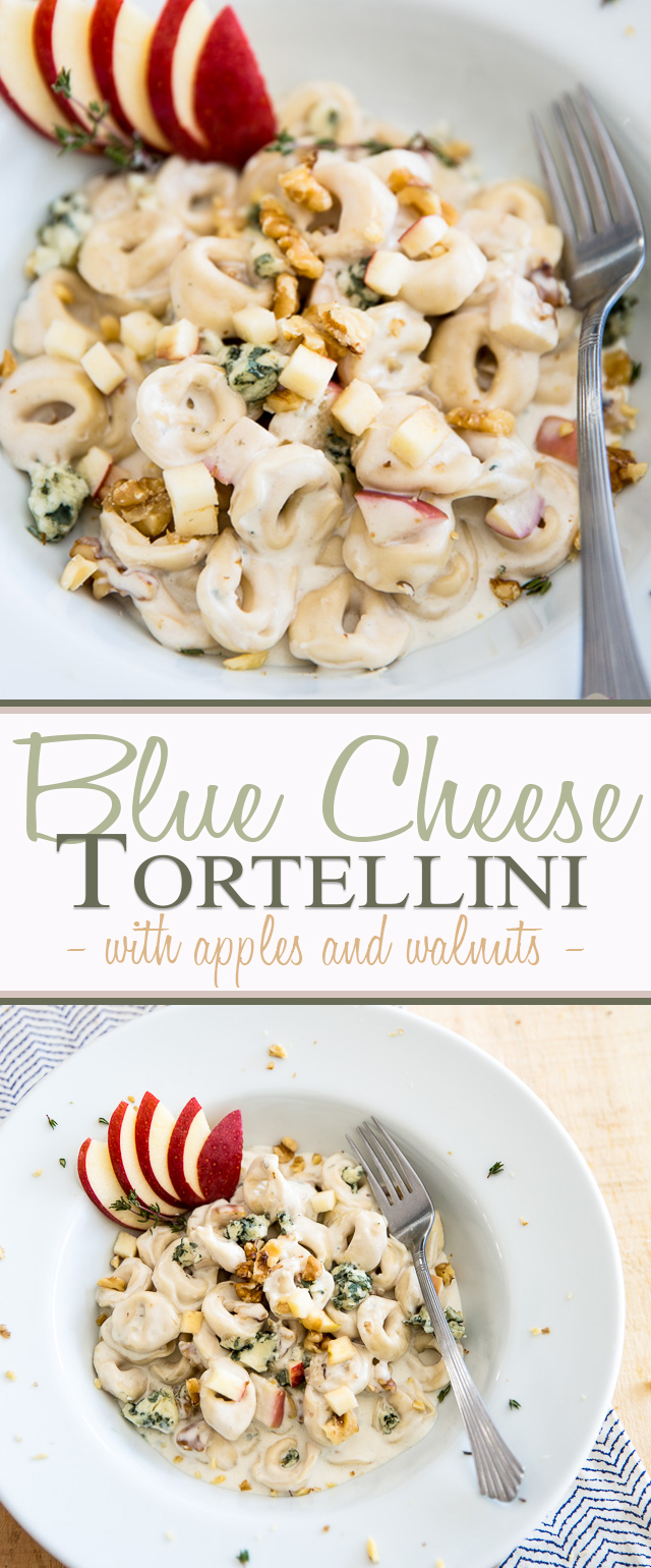 Blue Cheese Tortellini | eviltwin.kitchen