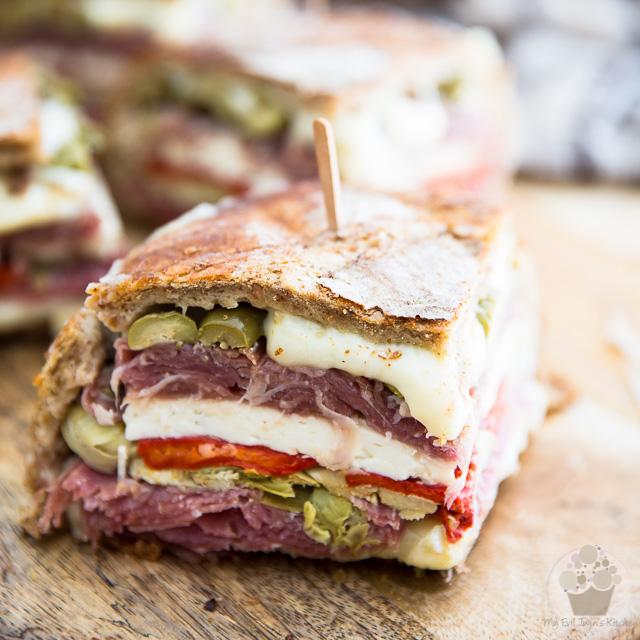 Muffuletta – aka – Antipasti Sandwich