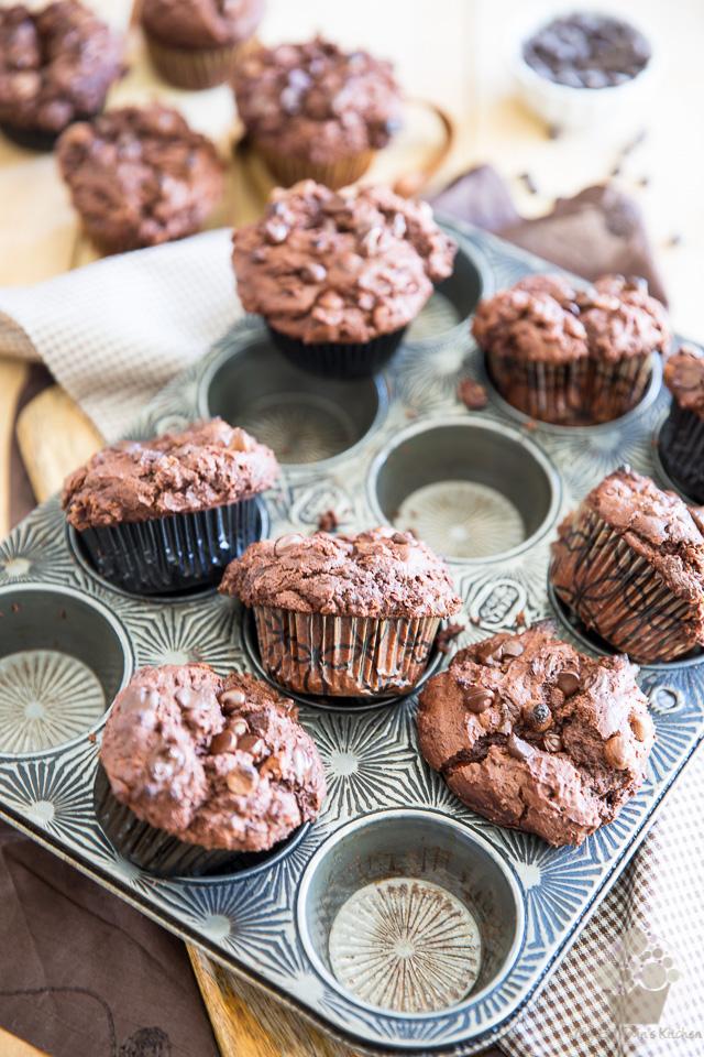 Chocolate Nutella Muffins | eviltwin.kitchen