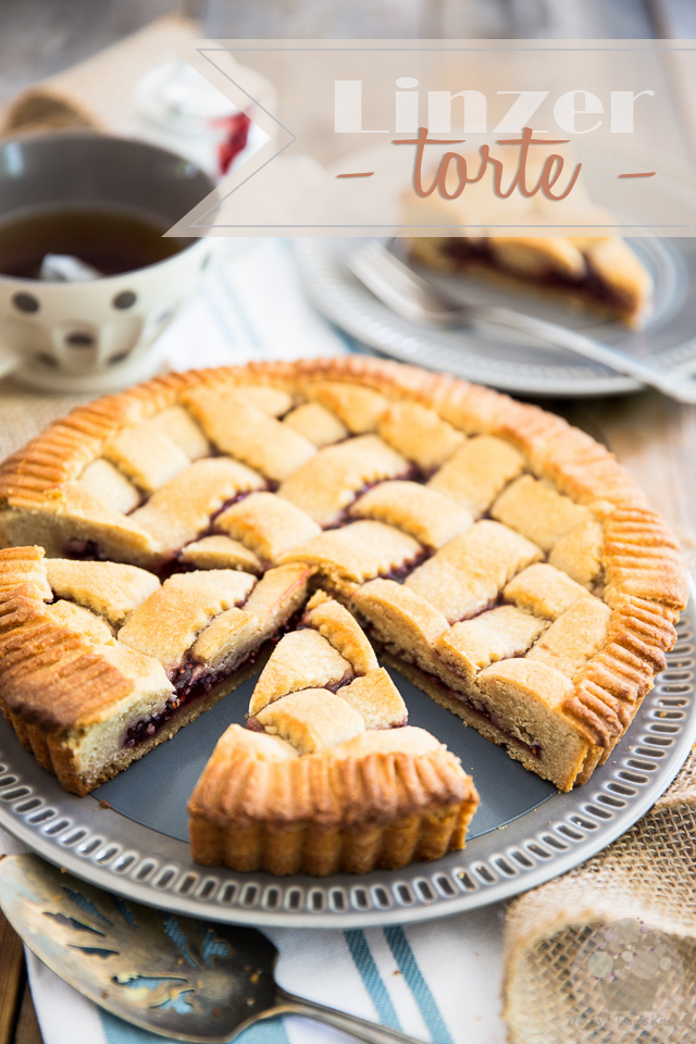 With its scrumptious nut based pastry and thin layer of fruit preserve, Linzer torte is a delicious yet super simple Austrian classic tart that's unlike any other pie out there. Try it once, you'll be hooked for life!