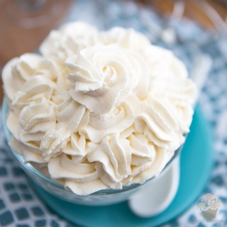 Perfect Chantilly Whipped Cream