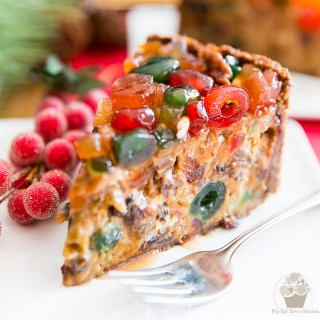 Fruit Cake Cheesecake