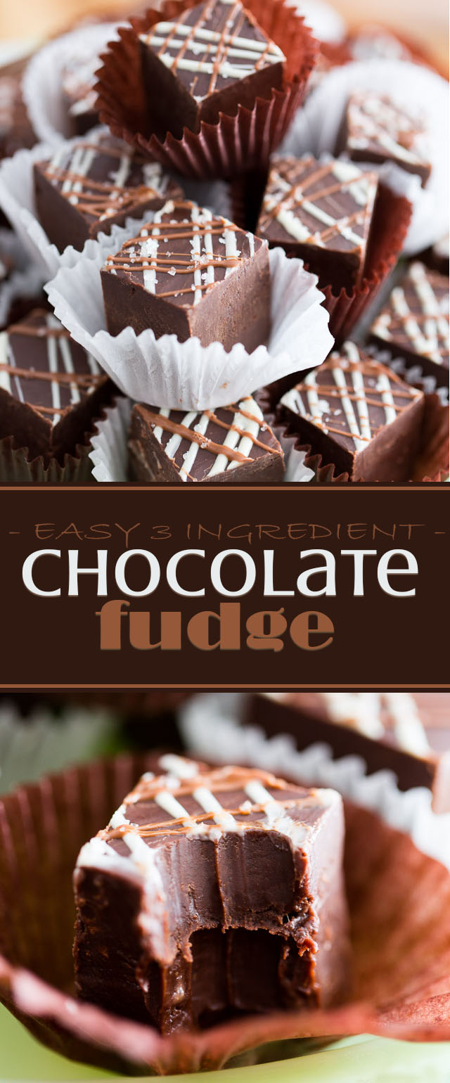 Easy Chocolate Fudge by My Evil Twin's Kitchen | Recipe and step-by-step instructions on eviltwin.kitchen