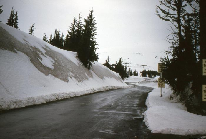 Timberline Lodge Snow Pack