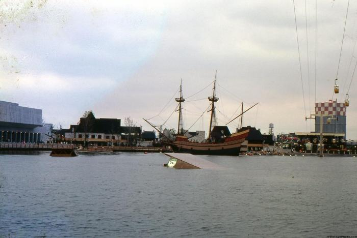 Pirate Ship and ski ramp