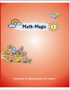 Ebooks class also mathematics text book math magic for cbse ncert rh evirtualguru