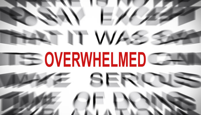 How To Get Rid Of Overwhelm Using The Law Of Attraction