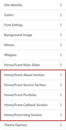 BizPlus: Sections