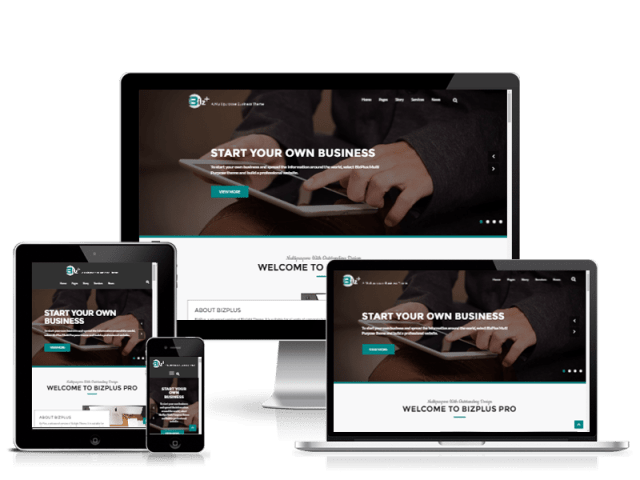 BizPlus: Free Business Theme