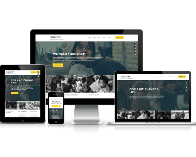 Charitize - eVision Themes Store