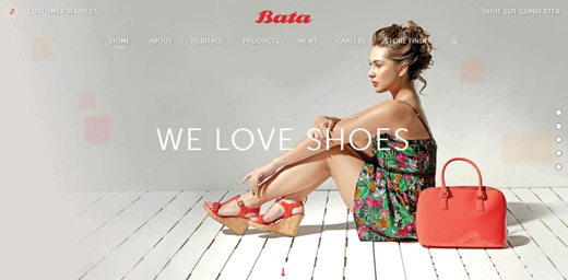 notable websites using wordpress: Bata
