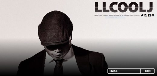 notable websites using wordpress: LL Cool J