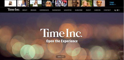 notable websites using wordpress: Time Inc
