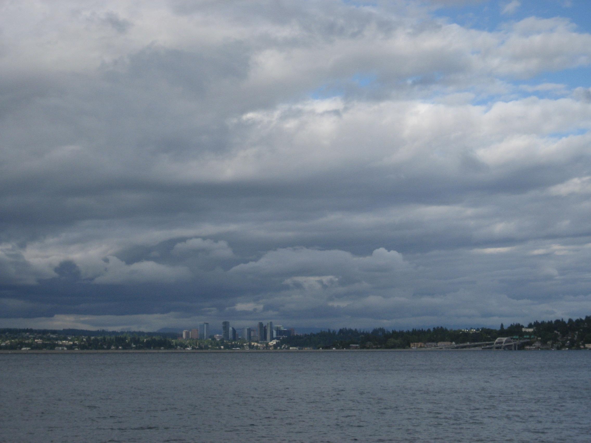 View from Lake Washington