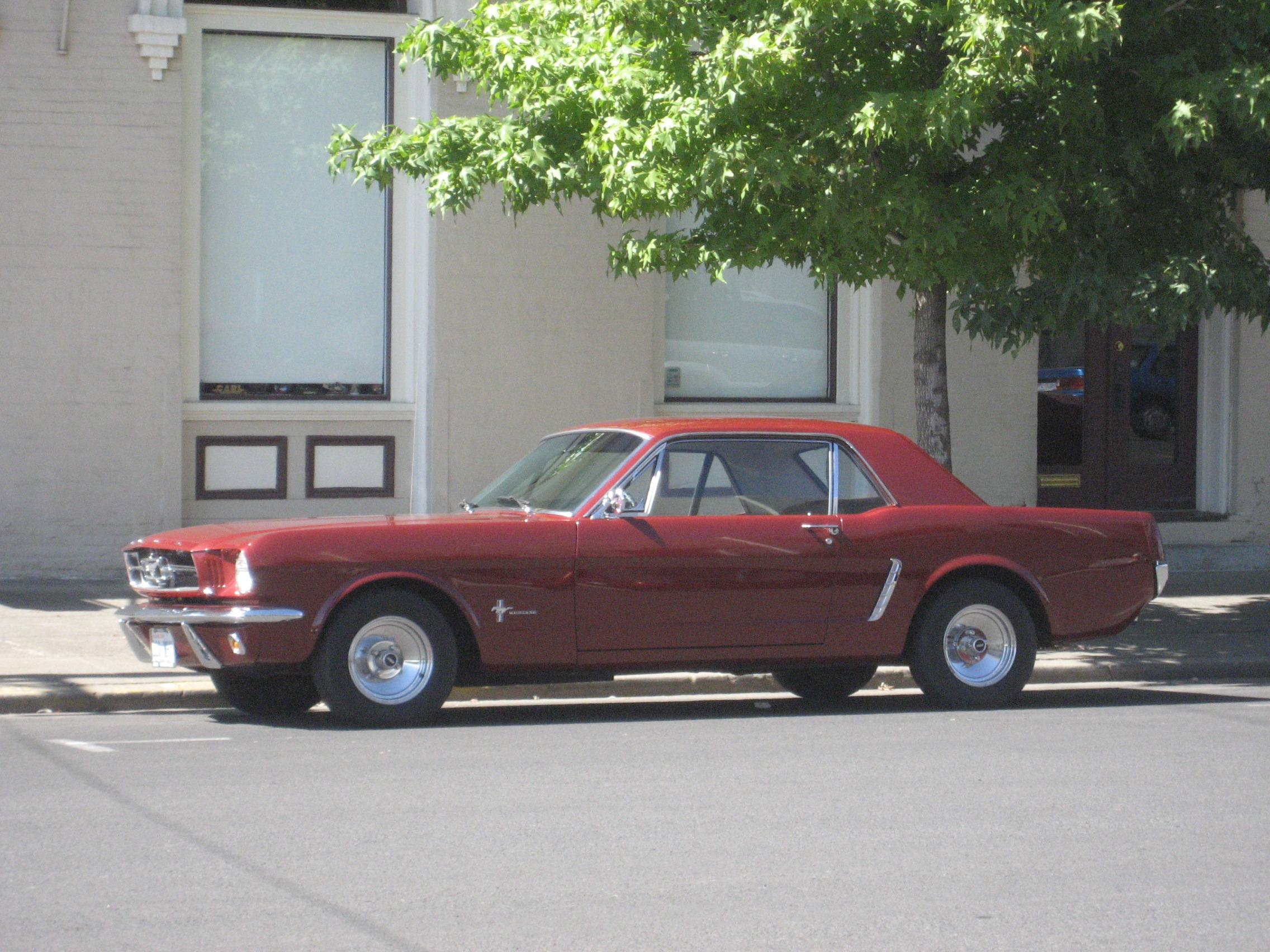 For Jody -- a 1965 Mustang