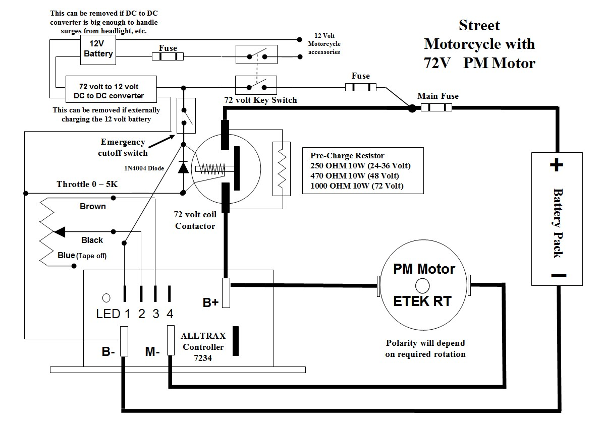 hight resolution of stuff i ve learned controllers contactors and converters oh my rh evmc2 wordpress com yamaha g16e controller 1999 ez go txt wiring diagram