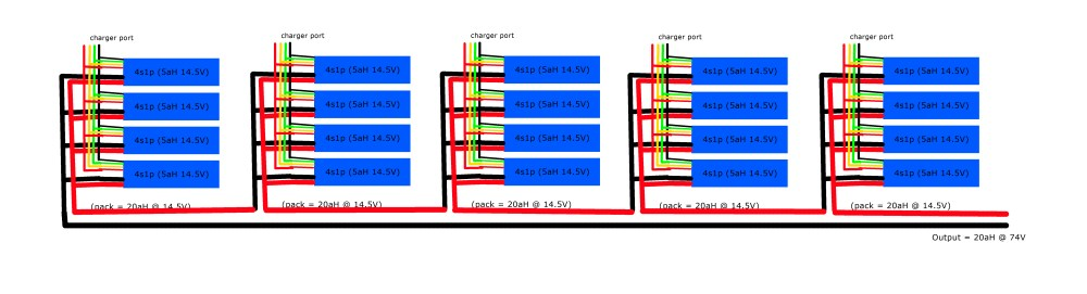 medium resolution of the lipo 4s1p pack wiring plan the electric chronicles power in flux li ion battery balance diagram lipo battery pack wiring diagram